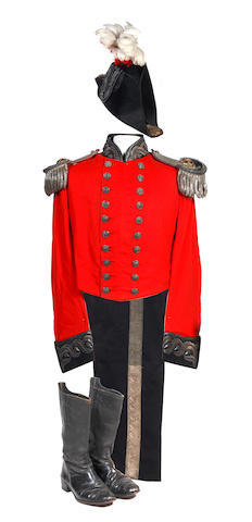 An English Lord Lieutenant's Full Dress Uniform of the Mid Victorian Period