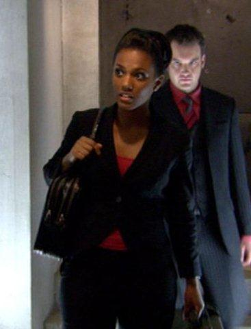 Torchwood, Series 2 - Reset: A Martha Jones (Freema Agyeman) costume, 2008,