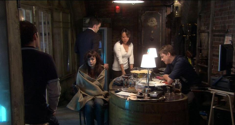 Torchwood 2006 - 2011: Captain Jack Harkness's safe door,