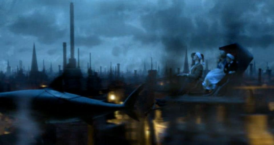Doctor Who - A Chrismas Carol, December 2010: A foam latex model of a shark,