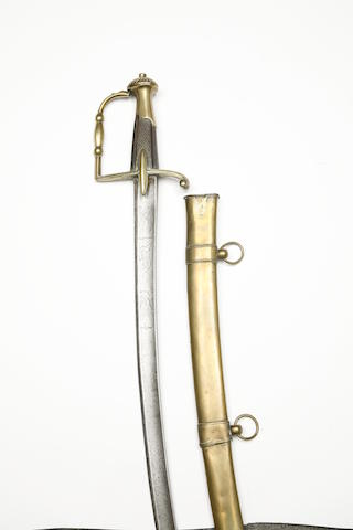 A French Cavalry Officer's Sabre