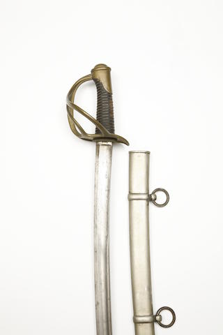 A French 1822 Model Light Cavalry Sabre