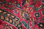 """A Meshed carpet 750cm x 425cm (24'8"""" x 13'11"""")."""