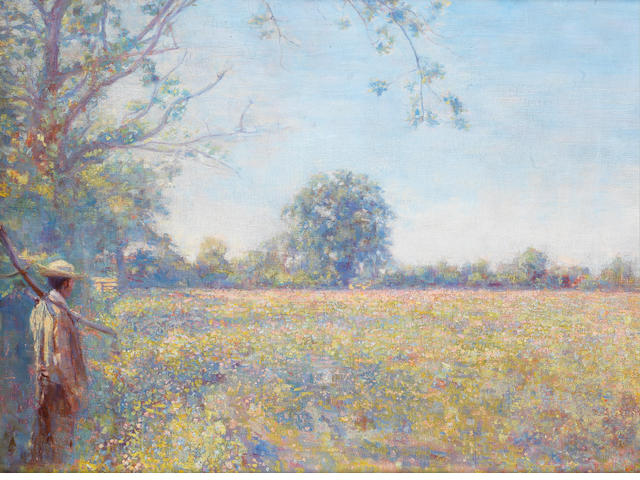 Frank Morley Fletcher (British/American, 1866-1949) The wild meadow