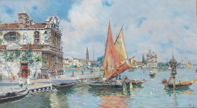 Antonio María de Reyna Manescau (Spanish, 1859-1937) Venice
