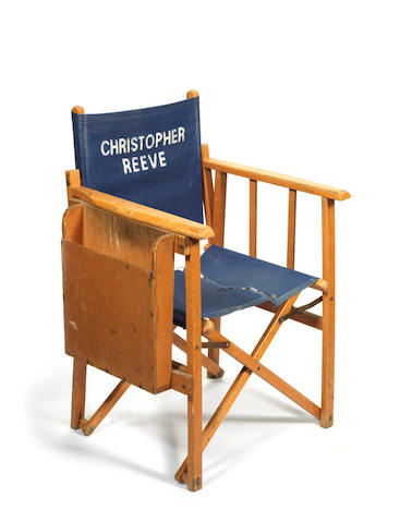 Superman: Christopher Reeve's directors chair,  1978,