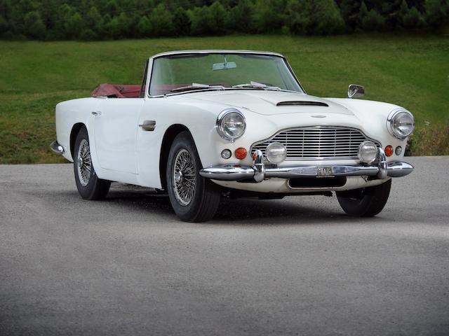 Bonhams Une Seule Famille Propriétaire 1963 Aston Martin Db4 Série 5 Vantage Cabriolet Chassis No Db4c 1099 L Engine No 370 1138 Ss