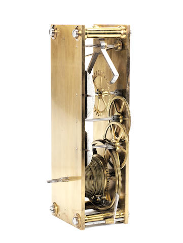 A very fine early 20th century Pendulum-makers regulator timing movement James H Auger Baugh 2
