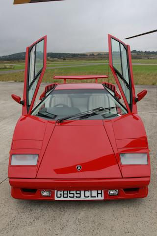 1990 Lamborghini Countach 25th Anniversary Coupé  Chassis no. ZA9C005A0KLA12870 Engine no. 12870