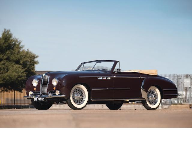 1951 Delahaye 135M Cabriolet  Chassis no. 801741
