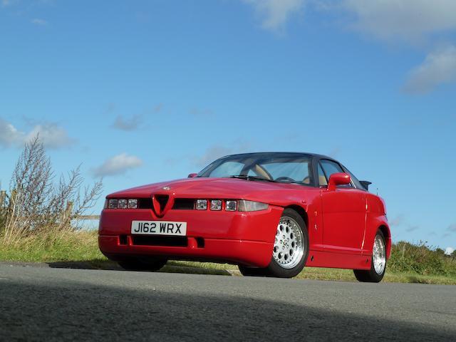 1990 Alfa Romeo SZ Coupé (ES 30)  Chassis no. ZAR162000*03000180