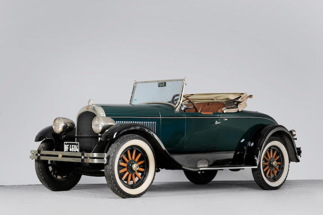 1928 Chrysler Model 70 Roadster  Chassis no. WS810R