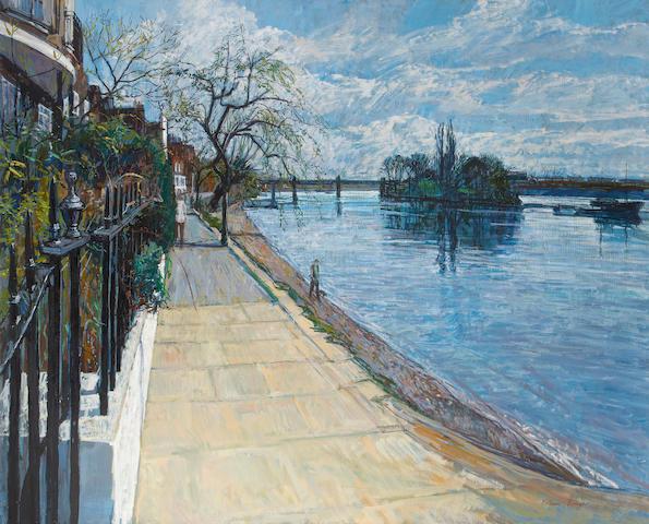 William Bowyer RA (British, born 1926) Strand on the Green