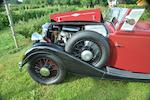 1938 Riley Big Four Redfern Tourer  Chassis no. 38BX 1224