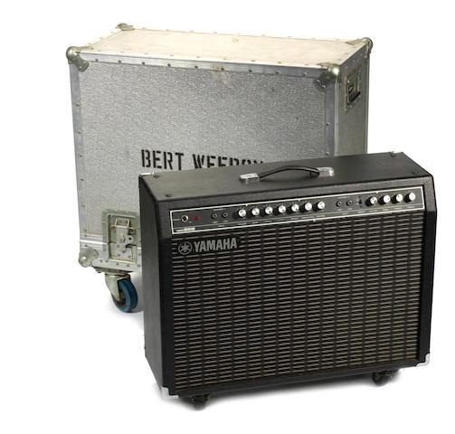 Bert Weedon: A Yamaha G100B-212 amp combo, 1980s/early 1990s,