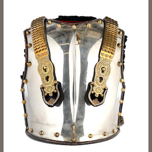 Life Guards Officer's Back and Breast Plates, Shoulder Straps, Bracing Belt & Waist Belt