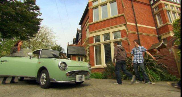 The Sarah Jane Adventures, 2007 - 2011: Elisabeth Sladen as Sarah Jane Smith Sarah Jane's car - A 1991 Nissan Figaro Two-Door Targa Coupé,