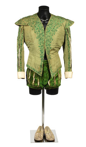 Diane / Roger Moore: A screen used costume, 1955,