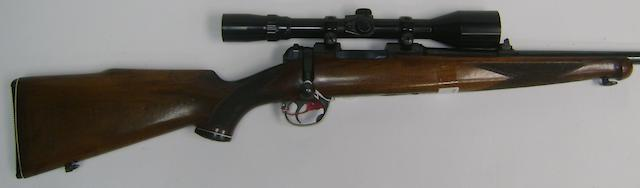 A .22 (Hornet) sporting rifle by B.S.A., no. C1B2004
