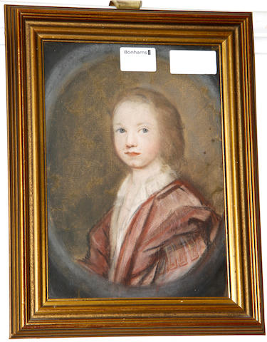 English School, late 17th/ 18th Century Portrait of a boy wearing a red robe