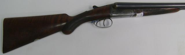 A 12-bore boxlock non-ejector gun by Joseph Braddell & Son, no. 7800