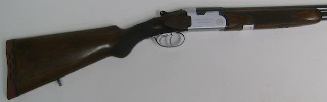 A 20-bore (2¾in) 'Mod. S.55' over-and-under non-ejector gun by P. Beretta, no. 04495