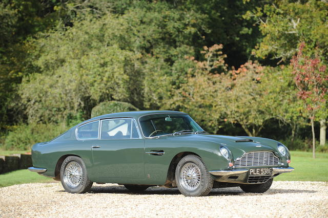 Single family ownership from new,1967 Aston Martin DB6 Sports Saloon  Chassis no. DB6/3134/R Engine no. 400/3189