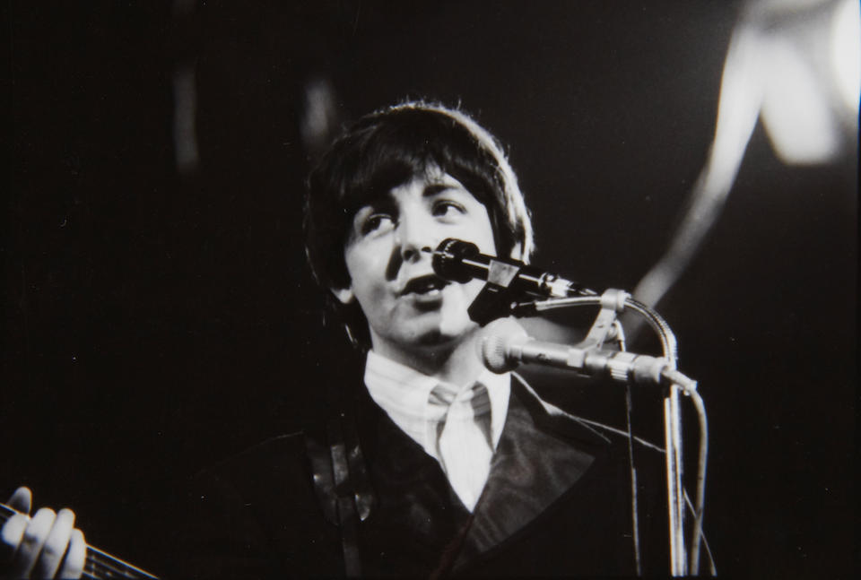 Frank Fischbeck (German, b.1940): The Beatles in Munich, Germany - A comprehensive collection of 137 unpublished black and white negatives and contact sheets, 23rd-24th June 1966,