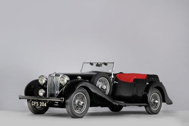 1938 MG SA Tourer  Chassis no. CH SA 2721