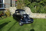 1960 Messerschmitt KR200 Cabriolet  Chassis no. 75492 Engine no. 3132795
