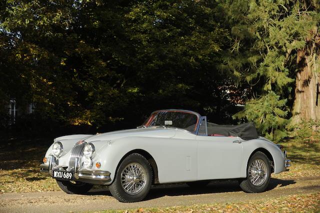 29,000 miles from new,1958 Jaguar XK150SE 3.4-Litre Drophead Coupé  Chassis no. S827232DN Engine no. V5824