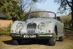 29,000 miles from new,1958 Jaguar XK150SE 3.4-Litre Drophead Coupé  Chassis no. S827232DN Engine no. V5824