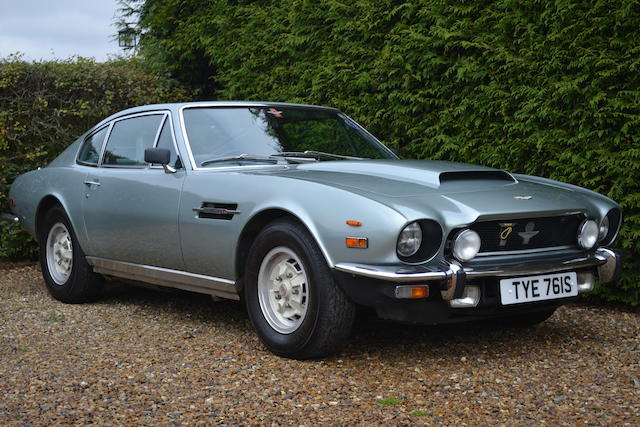 1977 Aston Martin V8 Series 3 Auto Sports Saloon  Chassis no. V8/11733/RCAS Engine no. V/540/1733S