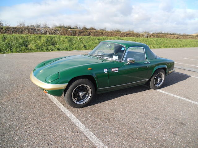 Formerly the property of Ron Hickman, Design Director at Lotus Cars,1970 Lotus Elan Sprint Drophead Coupé  Chassis no. 70030600125 Engine no. G22134