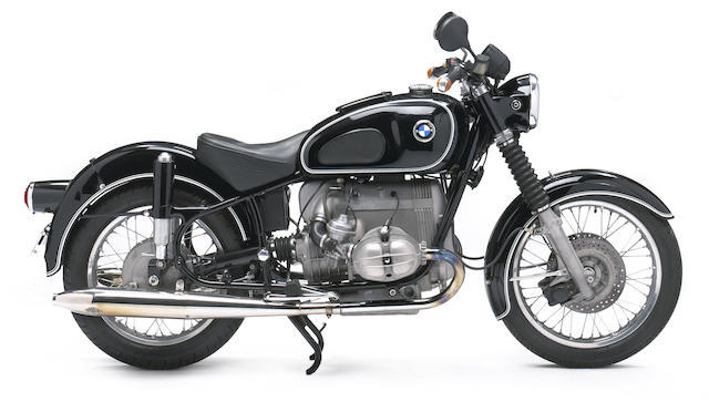 Powered by an R100/7 motor,1967 BMW 980cc R60/2  Frame no. 1810573 Engine no. 6170446