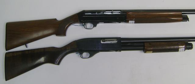 A 20-bore (2¾in) '201 SL 80' self-loading gun by Benelli, no. B10108 (2)