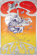 Psychedelia: A collection of nine posters by Hapshash And The Coloured Coat and others, late 1960s,