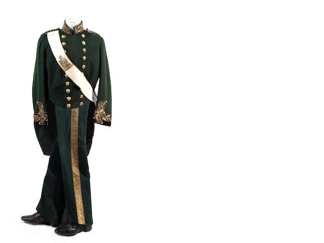 The King's Body Guard for Scotland (Royal Company of Archers), Court Dress for a Gentleman of the Body Guard