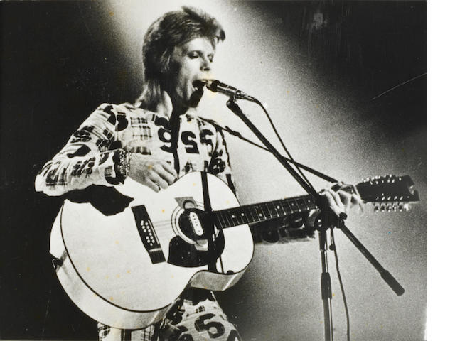 David Bowie: A collection of photographs, 1970s and earlier,