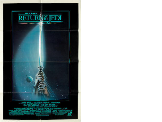 The Star Wars Trilogy: Three film posters, Twentieth Century Fox, 1977 and 1983, including:3