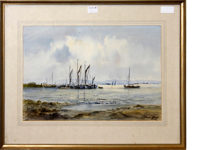 A. Webster, 19th Century Shipping off the coast