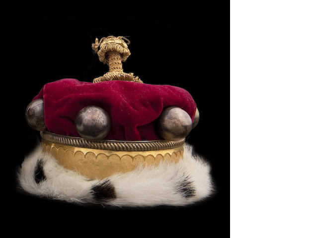A Peers' or Peeress' Coronation Coronet of small proportions