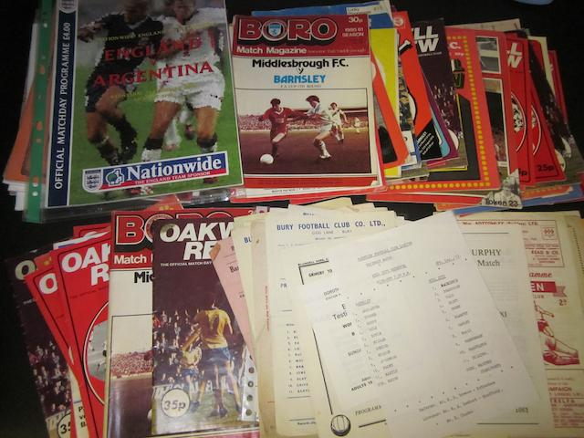 1951 onwards miscellaneous Barnsley programmes