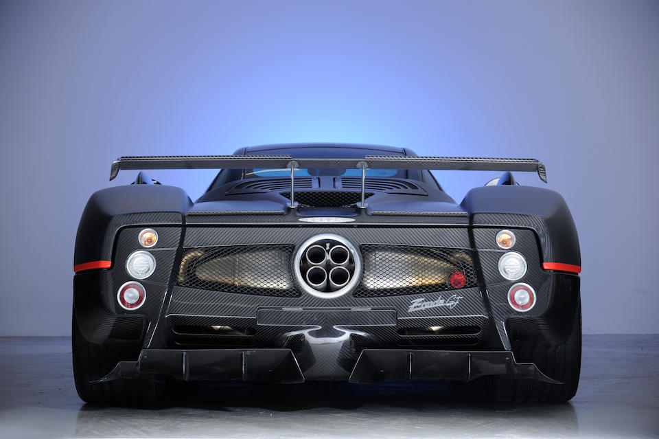 One owner from new,2003/2010 Pagani Zonda C12 S/F 7.3-Litre Coupé  Chassis no. ZA9C820C10SF76046