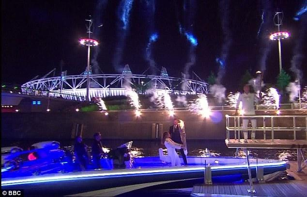 The London 2012 Olympic Opening Ceremony,2007/2008 Bladerunner RIB 35 Powerboat