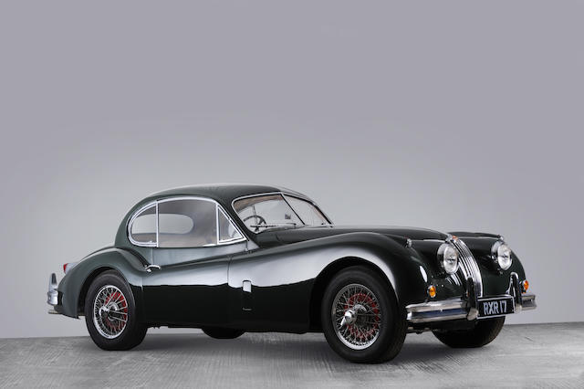 1956 Jaguar XK140 Coupé  Chassis no. 804612DN Engine no. G6527-8