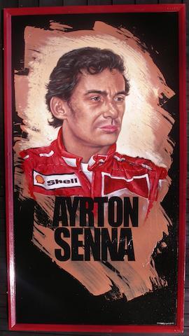 Tony Upson, 'Ayrton Senna',