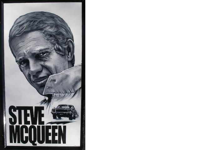 Tony Upson, 'Steve McQueen - Bullitt - Ford Mustang',