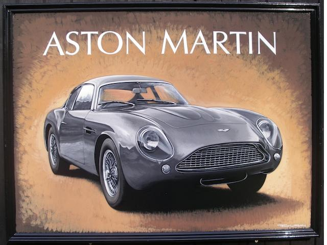 Tony Upson, 'Aston Martin Zagato',