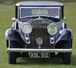 1933 Rolls Royce Phantom II Continental Barker Sedanca